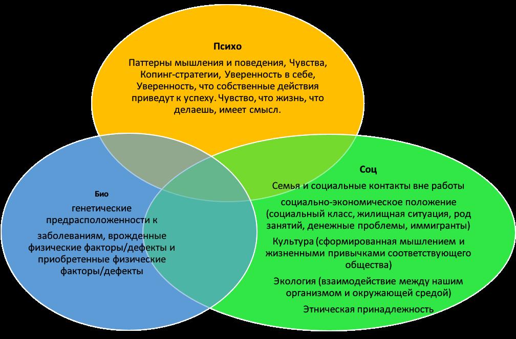 Биопсихосоциальная модель психического расстройства